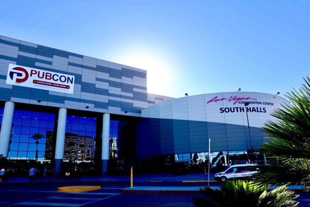 Pubcon Las Vegas Conference in Las Vegas Conventional Center