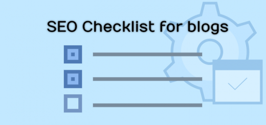 seo checklist for bloggers