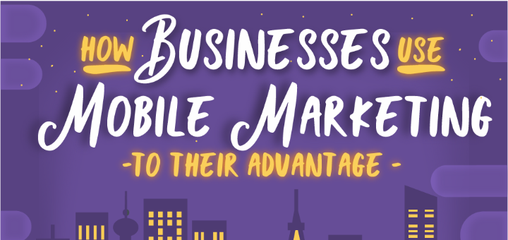 How businesses use mobile marketing image with houses