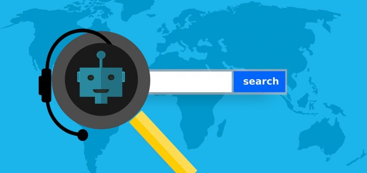 voice search on the map